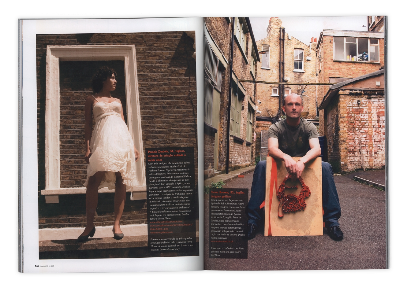 Fast Forward Magazine, London's One To Watch Simon Brown