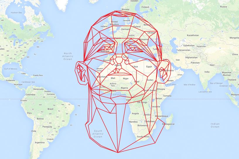 Google luck England, Rooney's head over Africa