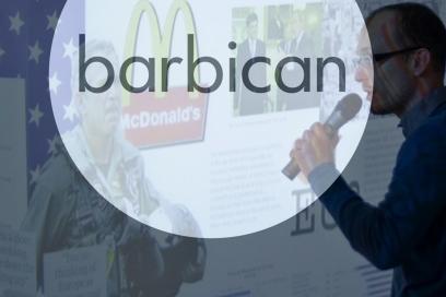 Design Antics Barbican OMA Talk   Simon Brown