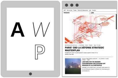 AWP.fr Website Design By &&& Creative