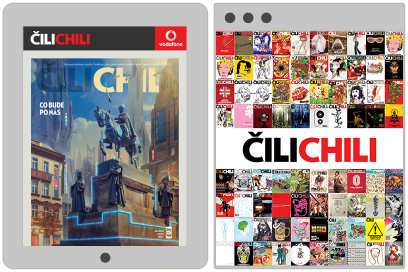 Cilichili Magazine, Vodafone, Website Design By &&& Creative