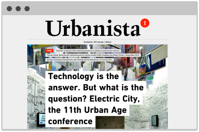Urbanista.org Website Design By &&& Creative