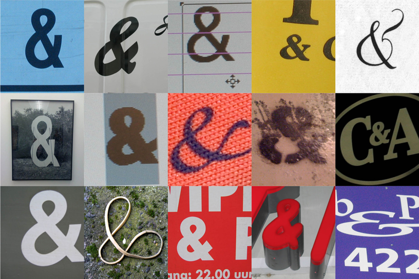 & of course we have an ampersand collection from around the world
