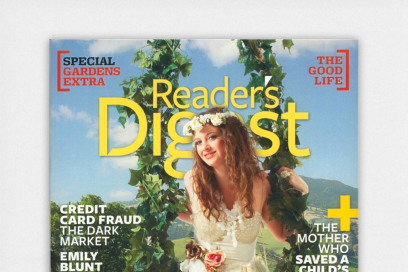 Creative Direction By &&& Creative For Reader's Digest
