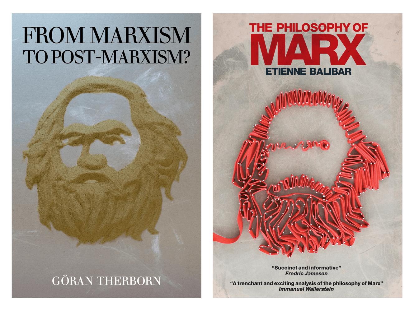 Book Cover Designs For Marxism To Post Marxism And The Philosophy Of Marx Book By Verso Books. Designed By &&& Creative