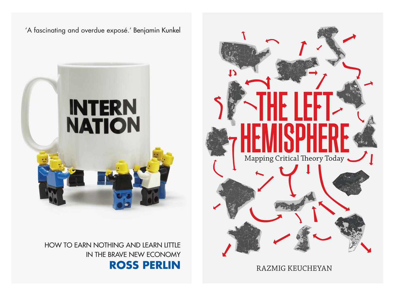 Book Cover Designs For Verso Books. Designed By &&& Creative