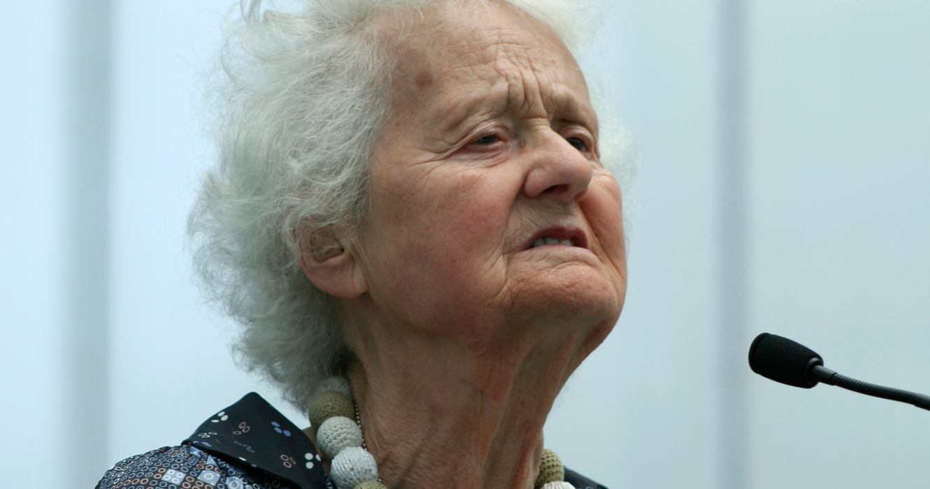 Doris Lessing At Rem Koolhaas's Serpentine Gallery Pavilion, Photography By &&&