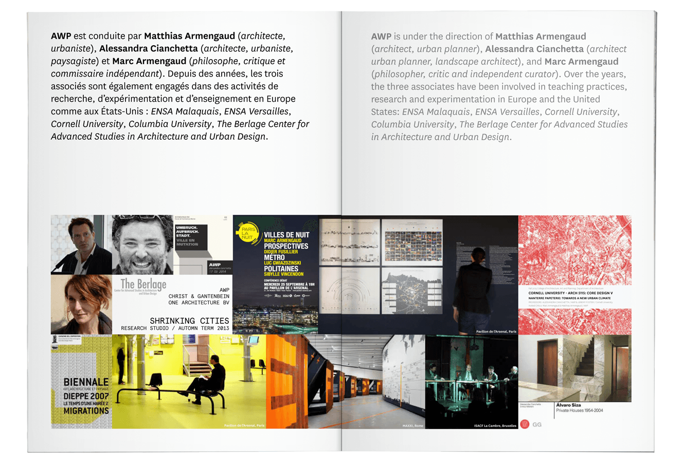 Book Design For Architectural Practise AWP By &&& Creative