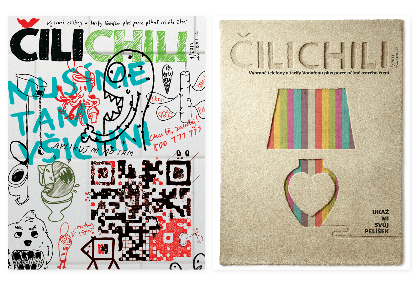 Cilichili Magazine Cover Designs By &&& Creative: Toilet Issue And Interiors Issue