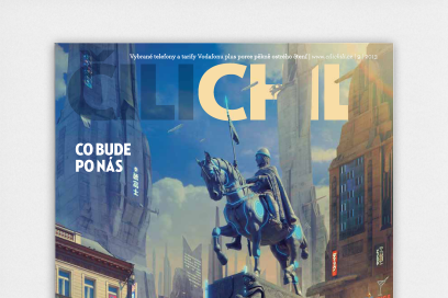 Cilichili Magazine For Vodafone Designed By &&& Creative