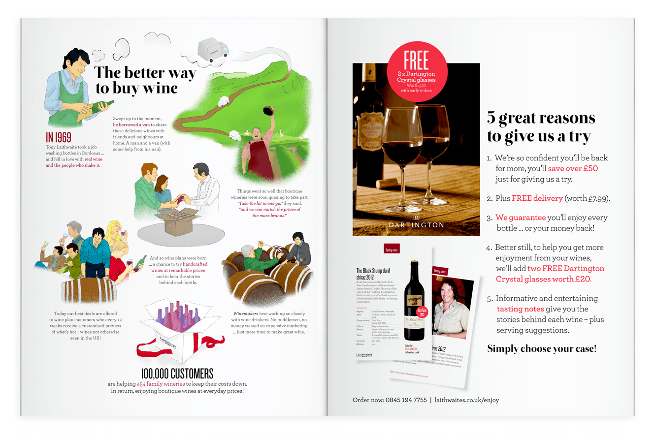 The Journey Of Discovery For Laithwaite's Wines By &&& Creative