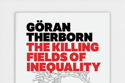 Book Cover: The Killing Fields Of Inequality Designed By &&& Creative
