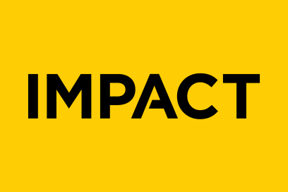 Impact Logotype Designed By &&& Creative