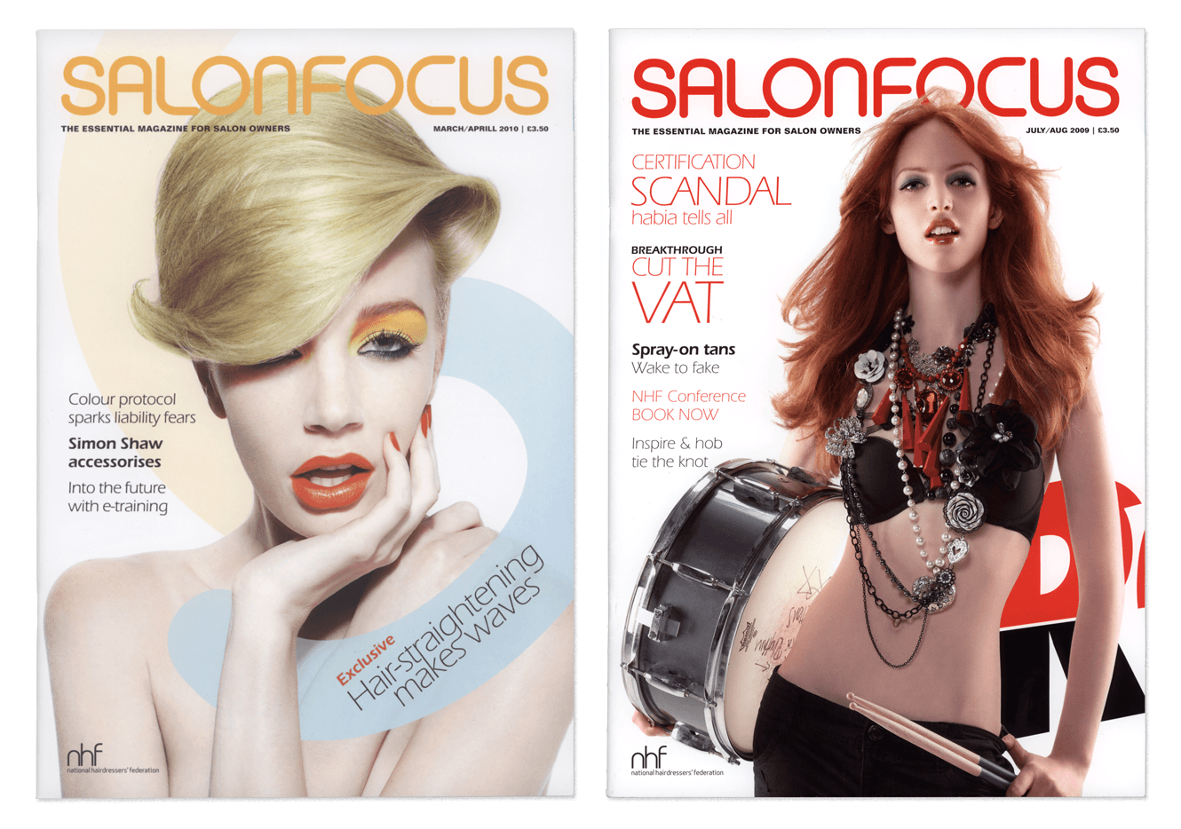 Salon Focus Magazine For Quercus Eight Designed By &&& Creative