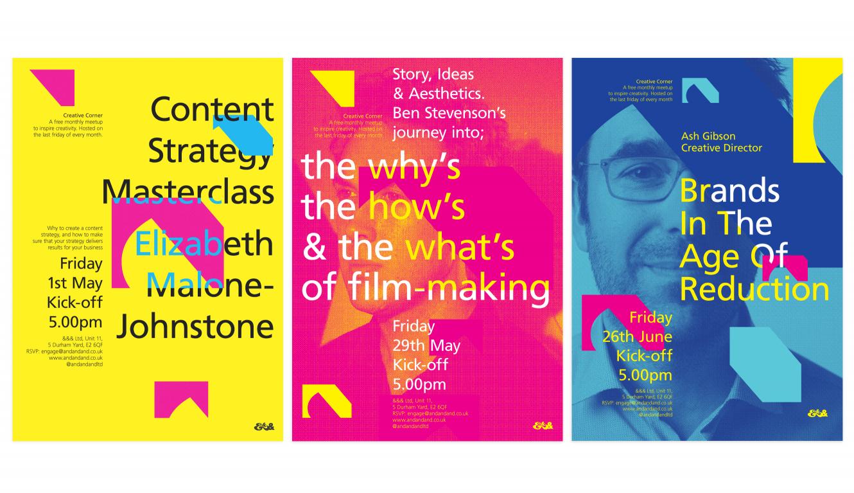 Creative Corner Posters