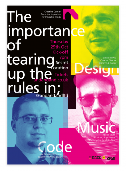 Creative Corner   The Importance Of Tearing Up The Rules In Design, Code, Music