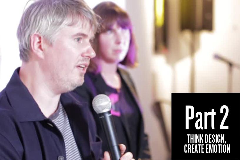 Part 2: Talk to the inner child  'Think Design, Create Emotion'